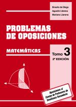 portada problemas de oposiciones matemáticas tomo 3