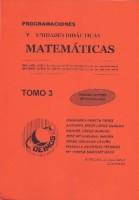 Programaciones y Unidades Didácticas Matemáticas Tomo 3